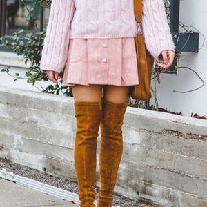 Chicwish pink mini skirt. Size S.